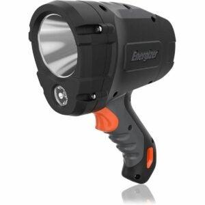 The Best Handheld Spotlight Option: Energizer LED Spotlight, IPX4 Water Resistant