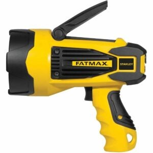 The Best Handheld Spotlight Option: STANLEY FATMAX SL10LEDS Rechargeable 2200 Lumen