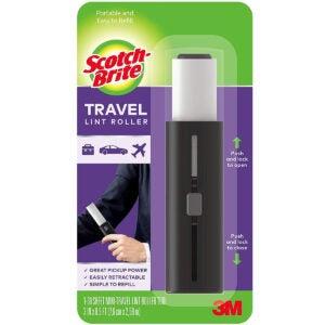 Best Lint Roller Option: Scotch-Brite Mini Travel Lint Roller