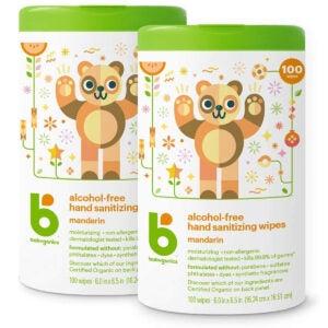 Best Natural Hand Sanitizer Options: Babyganics Alcohol-Free Hand Sanitizer Wipes