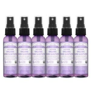 Best Natural Hand Sanitizer Options: Dr. Bronner's - Organic Hand Sanitizer Spray