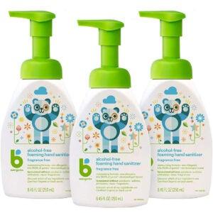 Best Natural Hand Sanitizer Options: Foaming Pump Hand Sanitizer