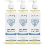 Best Natural Hand Sanitizer Options: Puracy Hand Sanitizer Gel Set for Home and Office