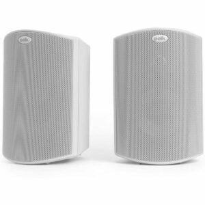 最佳户外扬声器选择:波尔卡音频中庭4户外扬声器