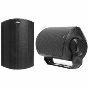 最佳户外扬声器选择:波尔卡音频中庭6户外扬声器