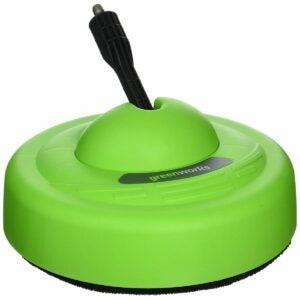 最佳压力清洗机表面清洁剂选择:Greenworks表面清洗机通用压力清洗机