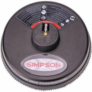 最佳压力洗衣机表面清洁剂选项:辛普森清洁80165,额定高达3700 psi