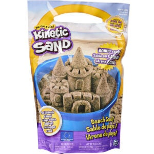 Best Sand for Sandbox Options: Kinetic Sand, 3.25lbs Beach Sand for Squishing