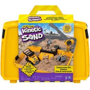 Best Sand for Sandbox Options: Kinetic Sand, Construction Site Folding Sandbox