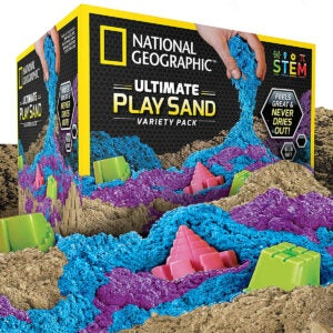 Best Sand for Sandbox Options: NATIONAL GEOGRAPHIC Play Sand Combo Pack