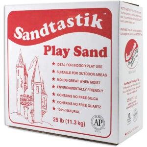 Best Sand for Sandbox Options: Sandtastik Sparkling White Play Sand