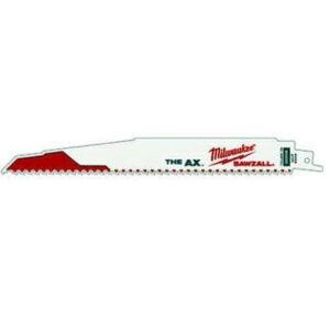 最好的Sawzall刀片选项:密尔沃基斧头9英寸往复锯片