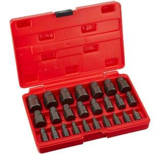 Best Screw Extractor Option: Neiko Multi-Spline Screw and Bolt Extractor Set