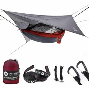 The Gifts for Outdoorsmen Option: Easthills Outdoors Jungle Explorer Camping Hammock