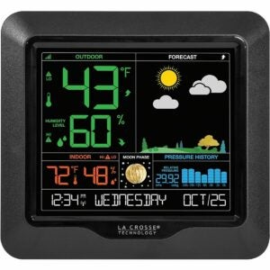 The Fishing Gifts Option:La Crosse Technology Color Forecast Station