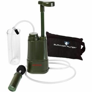 The Gifts for Outdoorsmen Option: Survivor Filter Pro - Hand Pump Camping Water Filter