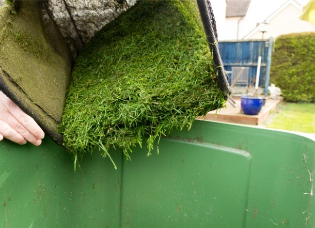 what to do with grass clippings