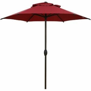 最佳优质日子家具优惠选项:ABBA Patio 7.5FT户外露台伞