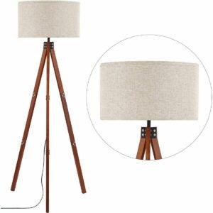 最佳优质日子家具优惠选项:Anbomo Wood Tripod架灯,现代常设灯