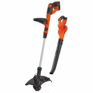 最好的阵亡将士纪念日销售选择:黑色+DECKER无绳清扫器和线束修剪器组合