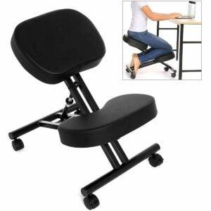 最佳优质日子家具优惠选项:Papafix符合人体工程学的跪椅,可调节凳子