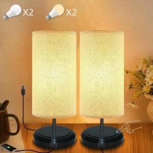 最好的主要日子家具优惠:Yuusei Touch Dimmable台灯组2