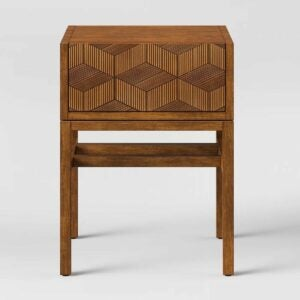 The Target Prime Day Option: Opalhouse Tachuri Geometric Front Accent Table