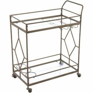The Walmart Amazon Prime Day Deals Option: Better Homes & Gardens Nicola Metal Bar Cart