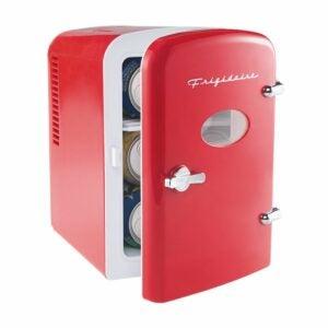 沃尔玛亚马逊邮政日优惠选项:Frigidaire便携式复古6-Can Mini冰箱