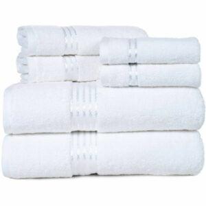 沃尔玛亚马逊Prime Day优惠选项:萨默塞特家100%棉花酒店毛巾套装