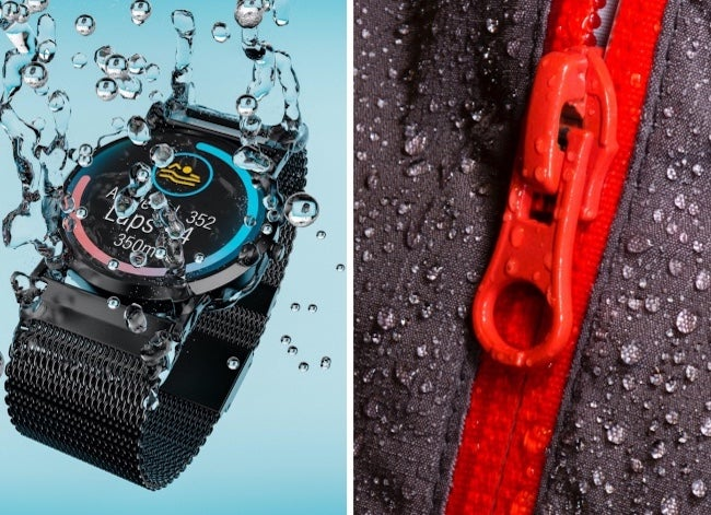 water resistant vs waterproof