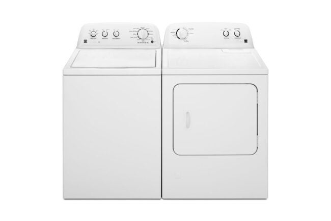 Best Place To Buy a Washer and Dryer Option: Sears