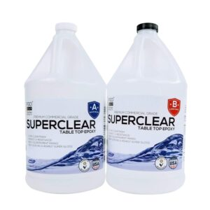 The Best Epoxy For Countertops Option: FGCI SUPERCLEAR EPOXY Resin