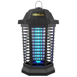 Best Gnat Trap Option: Hemiua Bug Zapper for Outdoor and Indoor