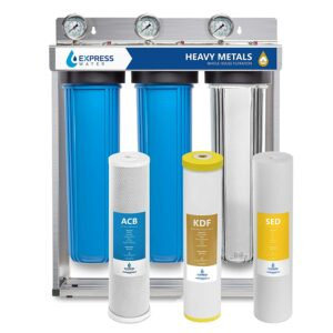 Best Whole House Water Filter Option: Express Water Heavy Metal Whole House Water Filter