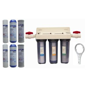 Best Whole House Water Filter Option: Reverse Osmosis Revolution Whole House 3-Stage