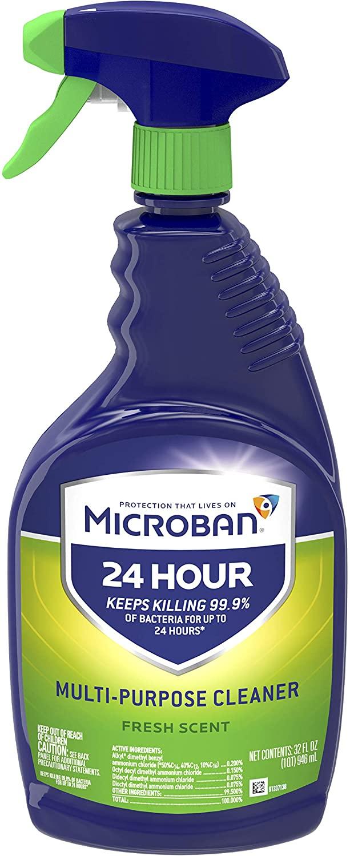 Microban 24 cleaner
