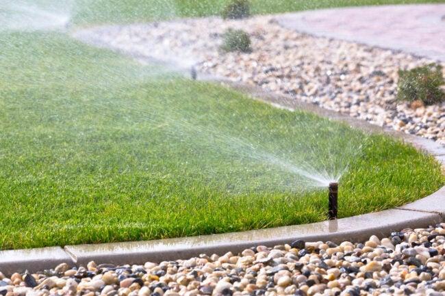 Sprinkler System Cost Types of Sprinkler Systems