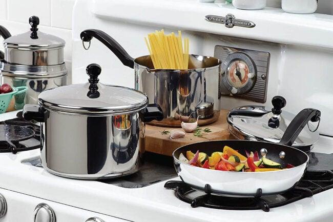 La meilleure option de marques de batterie de cuisine : Farberware