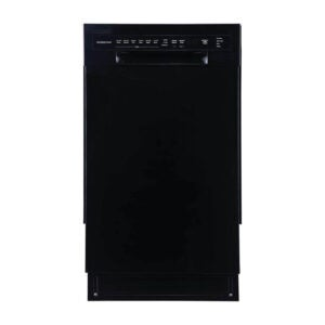 The Best Dishwashers Under $500 Option: EdgeStar BIDW1802BL 18 Inch Wide Dishwasher