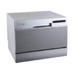 The Best Dishwashers Under $500 Option: EdgeStar DWP62SV 6 Place Setting Portable Dishwasher