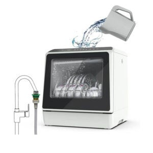 The Best Dishwashers Under $500 Option: KAPAS Portable Countertop Dishwasher