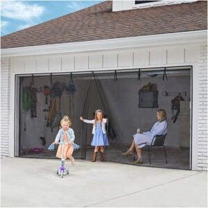 The Best Garage Door Screen Option: iGotTech UnBugs Garage Screen Doors for 2 Car Garage