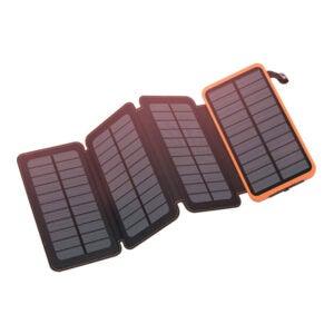 徒步旅行者最好的礼品选项:光泽太阳能户外防水手机充电器