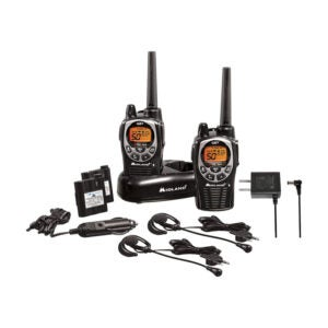 The Best Gifts for Hikers Option: Midland 50 Channel Waterproof GMRS Two-Way Radio