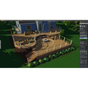 Structure Studios VizTerra Landscape Design Software
