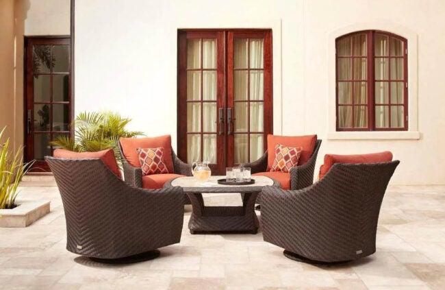 The Best Outdoor Furniture Brands Option: Brown Jordan