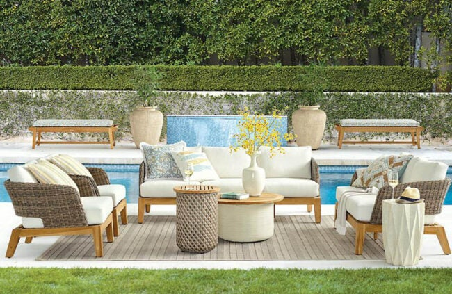 The Best Outdoor Furniture Brands Option: Frontgate
