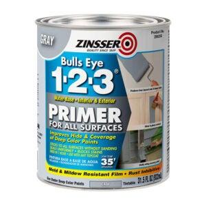 The Best Primer for Kitchen Cabinet Option: Rust-Oleum 286258 Primer, 31.5 oz, Gray