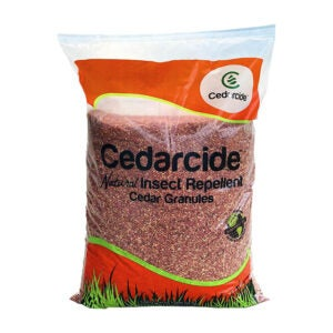 The Best Tick Repellent Option: Cedarcide Granules Insect Repelling Cedar Mulch
